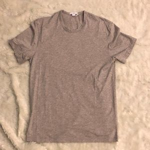 JAMES PERSE COTTON CASHMERE CLEAN JERSEY TEE